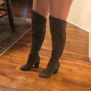 Steven Madden Real Suede Over the Knee High Boots